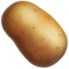 potato Emoji on Apple, iOS