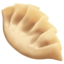 水饺上的Apple, iOS表情符号