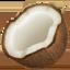 coconut Emoji on Apple, iOS