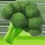 broccoli Emoji on Apple, iOS