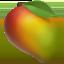 Emoji de fruta en Apple, iOS