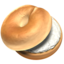 bagel Emoji on Apple, iOS