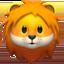 lion Emoji on Apple, iOS