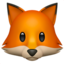 fox Emoji on Apple, iOS