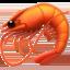 shrimp Emoji on Apple, iOS