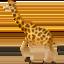 giraffe Emoji on Apple, iOS