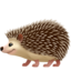 hedgehog Emoji on Apple, iOS