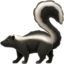 skunk Emoji on Apple, iOS