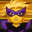 woman superhero Emoji on Apple, iOS