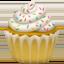 Emoji de magdalena en Apple, iOS
