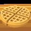 华夫饼上的Apple, iOS表情符号