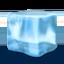 ice cube Emoji on Apple, iOS