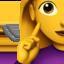 deaf woman Emoji on Apple, iOS