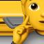 ear Emoji on Apple, iOS