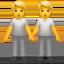 people holding hands Emoji on Apple, iOS