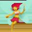 woman fairy Emoji on Apple, iOS