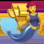 merperson Emoji on Apple, iOS