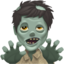 man zombie Emoji on Apple, iOS