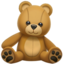 teddy bear Emoji on Apple, iOS