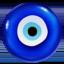 nazar amulet Emoji on Apple, iOS