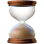 hourglass done Emoji on Apple, iOS