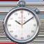 stopwatch Emoji on Apple, iOS