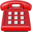 telephone Emoji on Apple, iOS