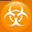 biohazard Emoji on Apple, iOS