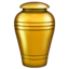 funeral urn Emoji on Apple, iOS