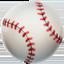 baseball Emoji on Apple, iOS
