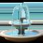 fountain Emoji on Apple, iOS