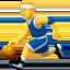 man bouncing ball Emoji on Apple, iOS