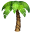 palm tree Emoji on Apple, iOS