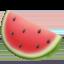 watermelon Emoji on Apple, iOS