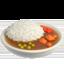 curry rice Emoji on Apple, iOS