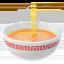 steaming bowl Emoji on Apple, iOS