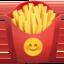 french fries Emoji on Apple, iOS