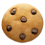 cookie Emoji on Apple, iOS