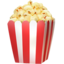 popcorn Emoji on Apple, iOS