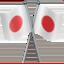 crossed flags Emoji on Apple, iOS
