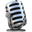 studio microphone Emoji on Apple, iOS