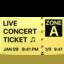 ticket Emoji on Apple, iOS
