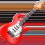 Emoji de guitarra en Apple, iOS