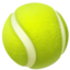 tennis Emoji on Apple, iOS