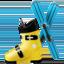 skis Emoji on Apple, iOS