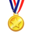 sports medal Emoji on Apple, iOS