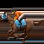 horse racing Emoji on Apple, iOS