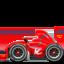 racing car Emoji on Apple, iOS