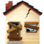 derelict house Emoji on Apple, iOS