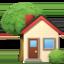 house Emoji on Apple, iOS